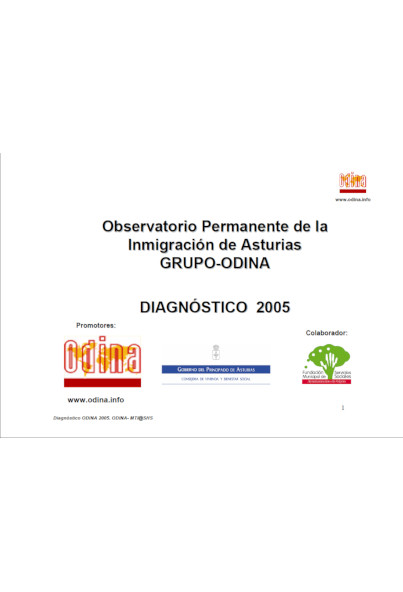 Diagnóstico Red ODINA 2005